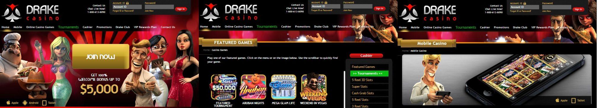 Drake Screens