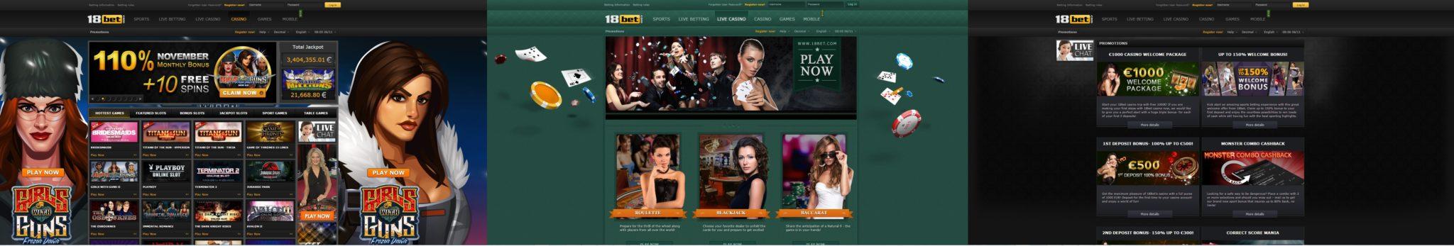 18BBet Casino