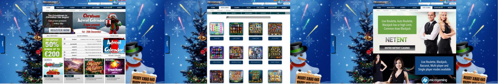 Rembrandt Casino_screens