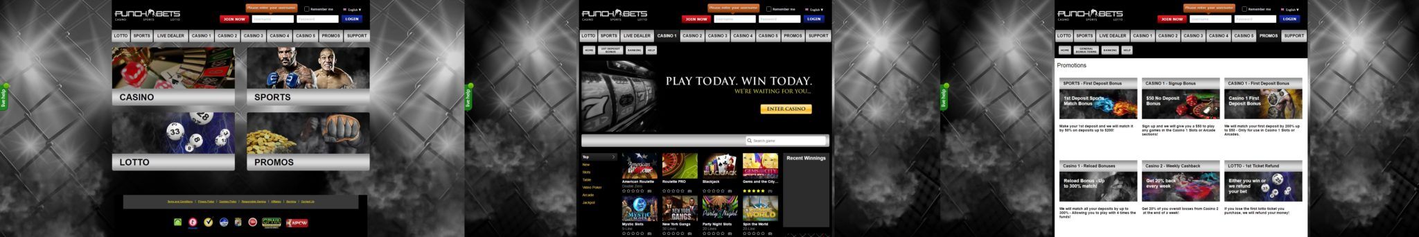 Punchbets_screens