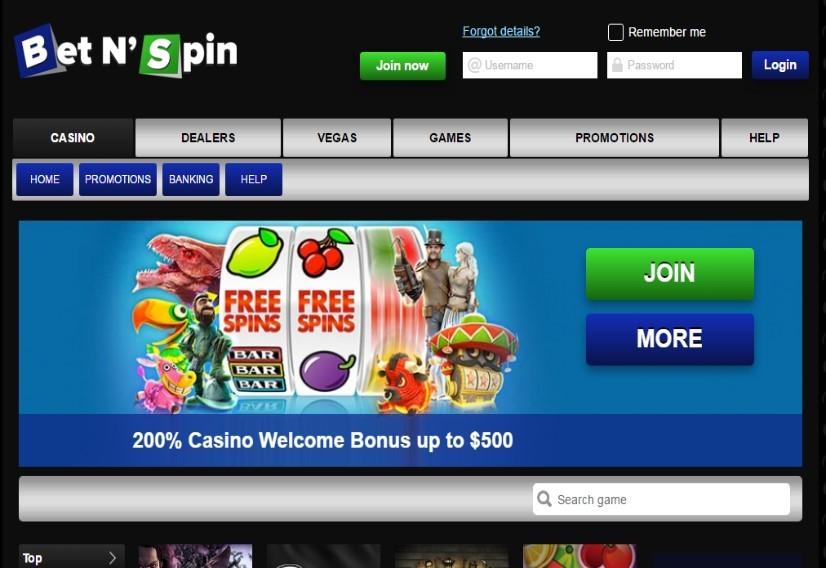 Visit Bet'N'Spin Casino