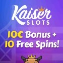 Kaiser Slots Casino Welcome Bonus