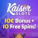 Kaiser Slots Casino Welcome Bonus