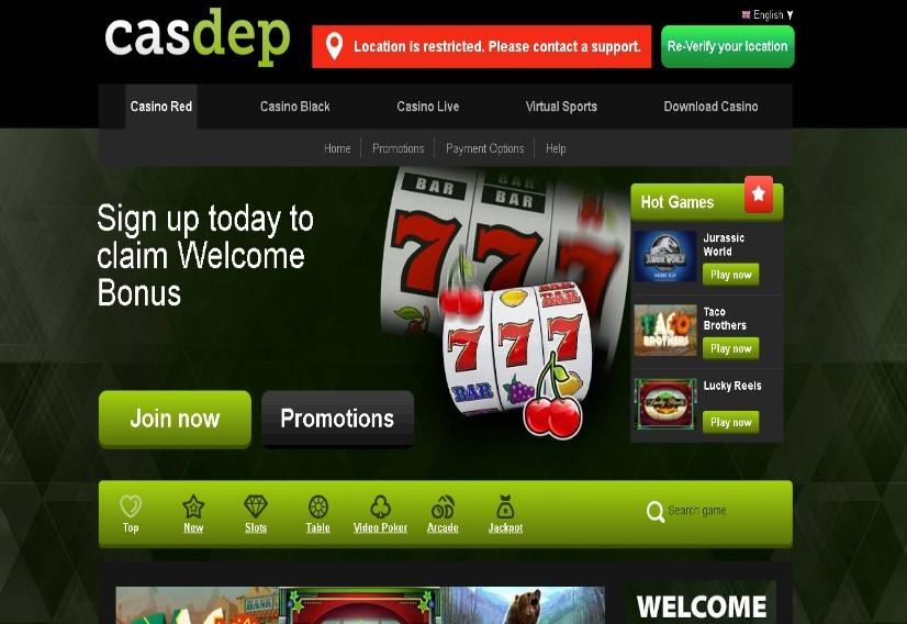Visit Casdep Casino
