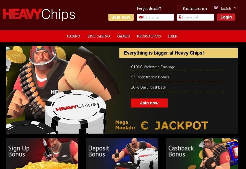 Visit HeavyChips Casino