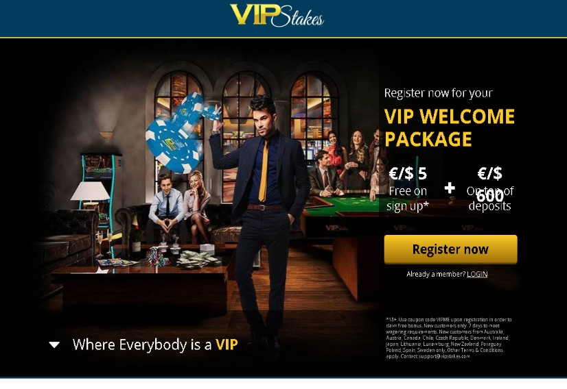 Visit VIP Stakes Casino