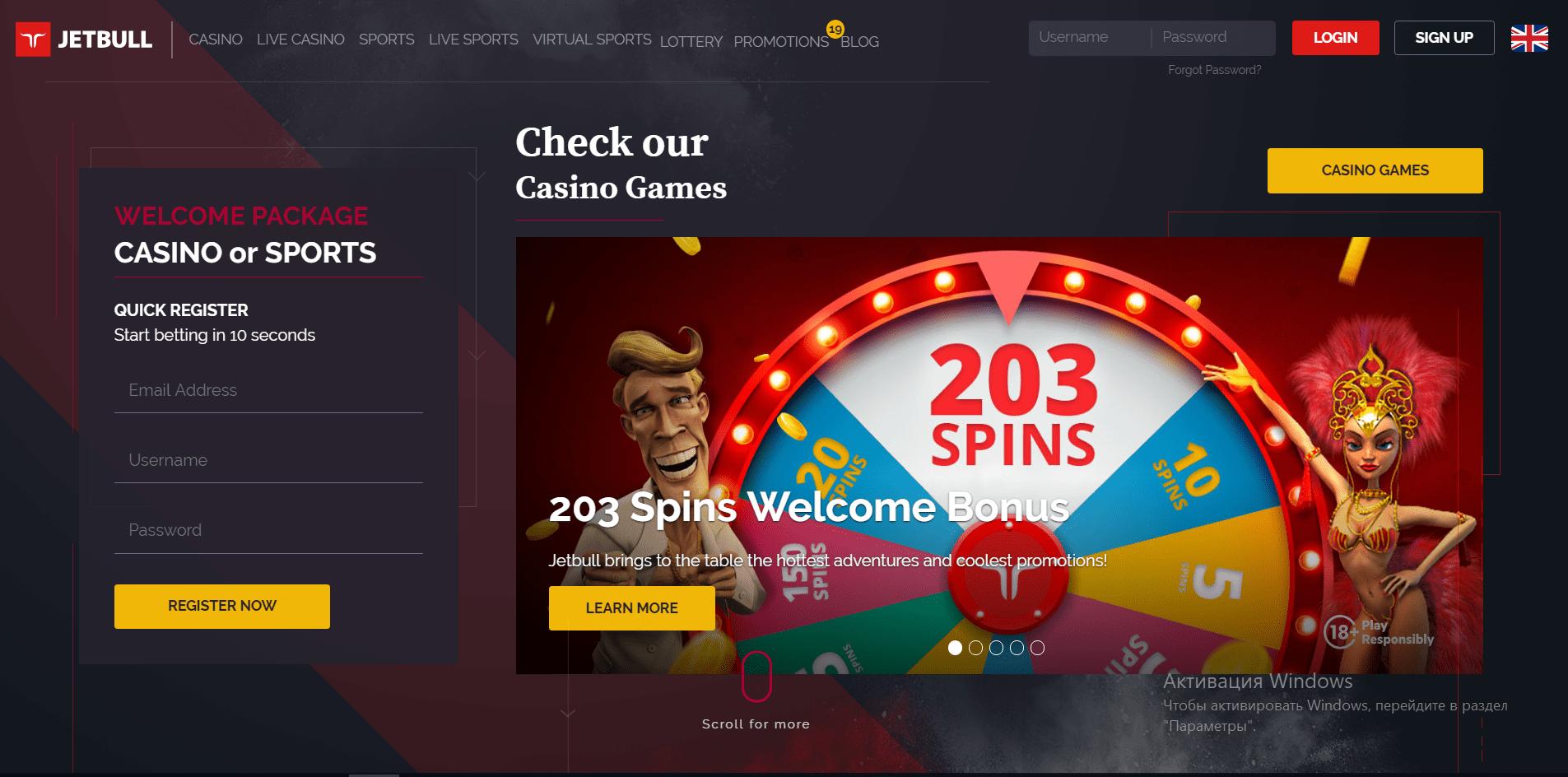 Jetbull casino review 150 casino taxation