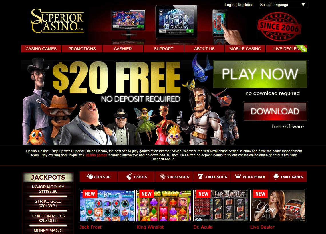 Superior Casino Site
